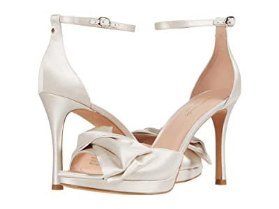 Kate Spade New York Bridal Bow (Ivory Satin) Women
