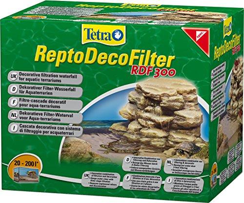Tetra ReptoDecoFilter RDF 300 - für Aquaterrarien von 20 bis 200 Liter, beseitigt Schmutzpartikel, Wasserfärbungen und Gerüche, sorgt für klares und gesundes Wasser