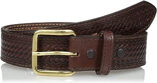 حزام نوكونا بيلت سي او للرجال. حزام تصميم باسكت موني بلون بني للرجال