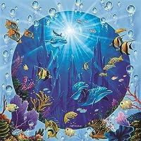 大人と子供のための3000ピースパズル-海底の魚3000ピースパズル-挑戦的なパズル3000ピースパズルギフト122×81cm