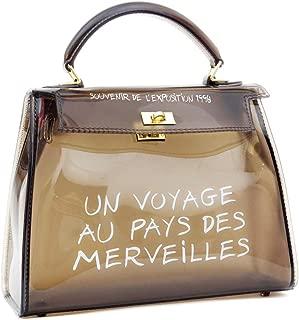 Women's Clear Bag Jelly Color Transparent Handbag PVC Purse