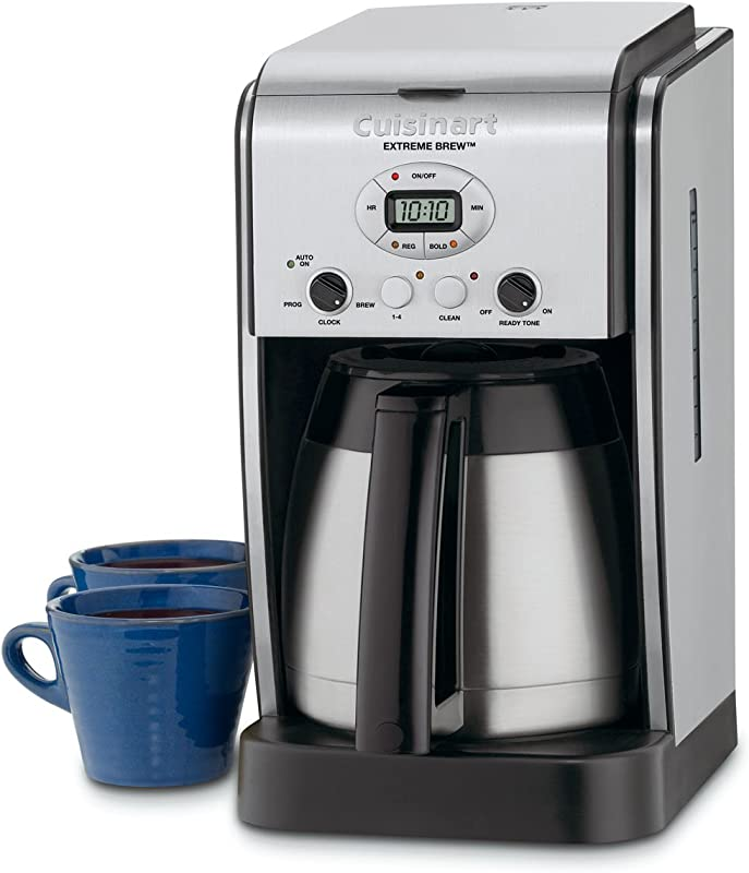 Cuisinart DCC 2750 Extreme Brew 10 Cup Thermal Programmable Coffeemaker Silver