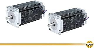 DE-SHIP FREE 334HS1456 Nema34 Motor Stepper bipolar, 116 mm, 1232oz-in Dual flat, 5,6 A, 1,8 /° + DM860 CNC, OEM ACT MOTOR GmbH
