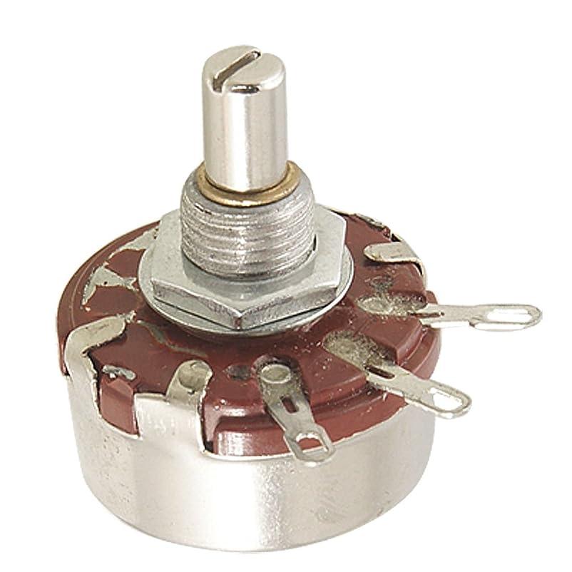 解釈するテロアッティカスuxcell カーボンポテンショメータ コントロールポット WTH118-1A 220K ohm 2W カーボンコンポジション ポテンショメータ