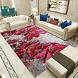 Hogar 3D oro diamante terciopelo alfombra sala de estar dormitorio manta de noche llena de ventana salediza tatami estudio entrada red alfombra roja-Rama rica en terciopelo de diamantes dorados_Lo