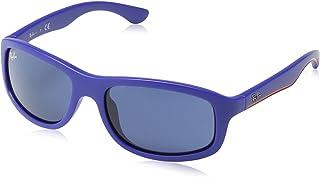 3c910f0001 Ray Ban Junior 9058S Gafas de Sol para Niños/Niñas, Azul