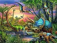 1500ピースパズル強力な恐竜子供のための教育的知的減圧楽しいゲーム大人のおもちゃ