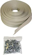 Auto Care Products Inc 58036 ProSeal 36-Feet Garage Door Top and Side Seal with Nails for 2 Car Garage