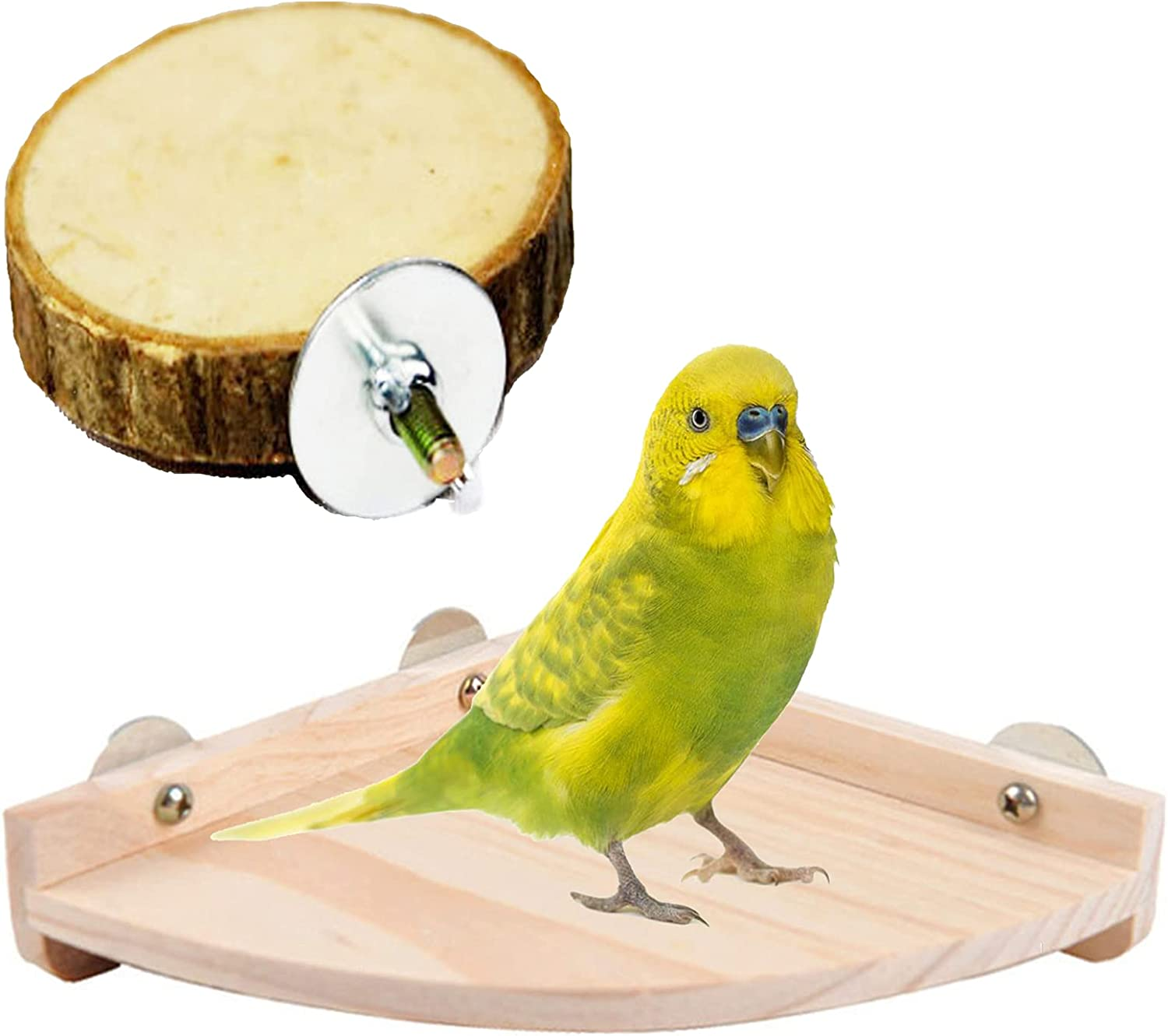 kathson Bird Perch Platform Outlet SALE Parrot Outstanding Stand Playground Cage Accesso
