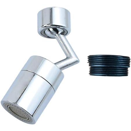 720° Rotatable Faucet Nozzle Aerator Swivel Sink Bubbler Tap Sprayer Connector