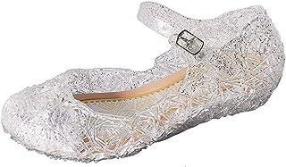 GenialES® Bambina Scarpe Principessa Cospaly Costume Carnival Party Vestito Halloween di compleanno dei sandali della gel...