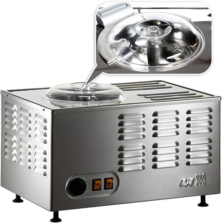Macchina gelato gelatiera professionale musso stella chef - in acciao inox con dispositivo sicurezza 5060269375535