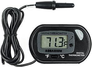 Zacro LCD Digital Aquarium Thermometer Fish Tank Water Terrarium Temperature