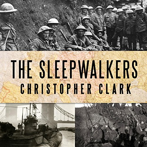 The Sleepwalkers audiobook cover art