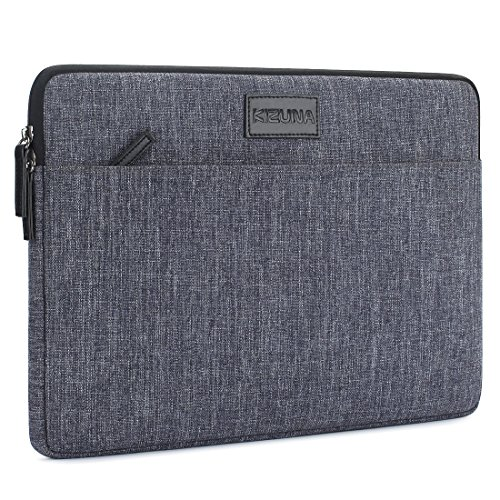 KIZUNA 13.3 Inch Laptop Sleeve Case Water Resistant Notebook Bag for 14' Lenovo YOGA C740 920 C930/14' ThinkPad X1 Carbon/IdeaPad C340/HUAWEI MateBook D 14/ASUS ZenBook/DELL1 Latitude 5401,Dark Grey
