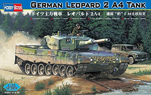 Hobby Boss 82401  - Los Tanques alemanes Leopard 2 A4