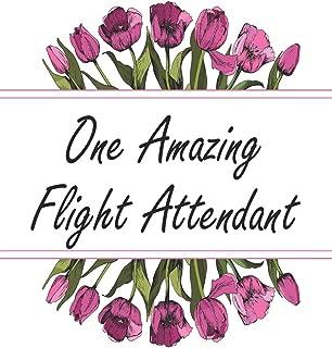 One Amazing Flight Attendant: Weekly Planner For Flight Attendant 12 Month Floral Calendar Schedule Agenda Organizer