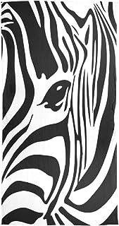 scuola Foulard Sciarpa di seta Silenziatore in chiffon Scialle avvolgente Zebra astratta Animale