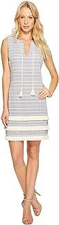 فستان محبوك مخطط للنساء من Jessica Simpson
