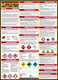 How To Read A Safety Data Sheet (SDS/MSDS) Poster, 24 x 33 Inch, UV Coated Paper (Poster)
