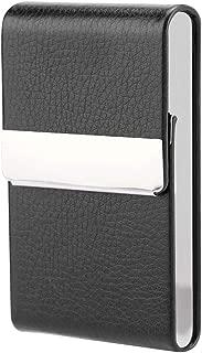 Fditt Fashionable Cigar Cigarette Case Tobacco Lighter Holder PU Leather Storage Box Cigarette Case Wallet
