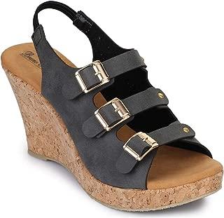 Bruno Manetti Women Black Synthetic Heels