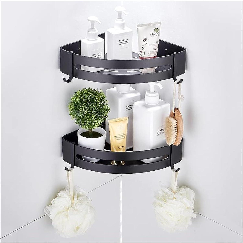 ppqq Suitable for Max 66% OFF Home Bathroom Shelves Classic Shelf Ba Shower
