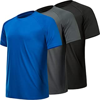CE' CERDR Mens Workout Shirts Quick Dry Performance Short Sleeve Athletic Shirt