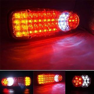 Suading Car Rear Bumper LED Tail Light Brake Light Reflector for Mercedes Sprinter W906 2006-2016 Vito Viano W639 2003-2014