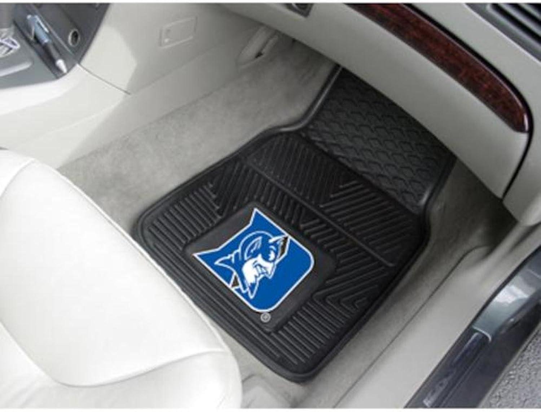 Fanmats Sports Team Logo Duke University Heavy Duty 2Piece Vinyl Car Mats 18 x27
