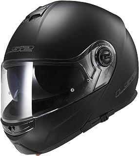 LS2 Helmets Modular Strobe Helmet (Matte Black - XX-Large)