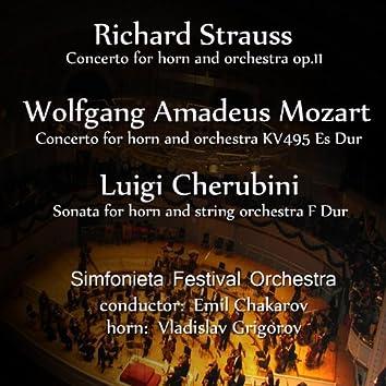 Richard Strauss-Wolfgang Amadeus Mozart-Luigi Cherubini: Selected Works