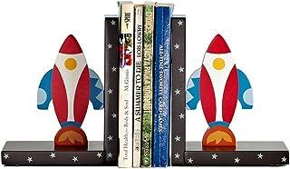 XBR Anti-sladd bokstöd stöder kreativa bokstöd, flygplansformade bokstöd, intressanta dekorationer för barnrum, bokstöd fö...
