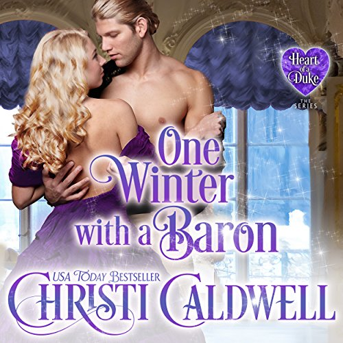 One Winter with a Baron audiobook cover art