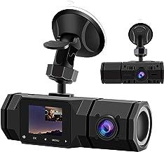 $59 » Sponsored Ad - 2021 Upgraded Dual Dash Cam, FHD 1080P Front and Interior Dual Dash Cameras IR Night Vision Dashcam for Ca...