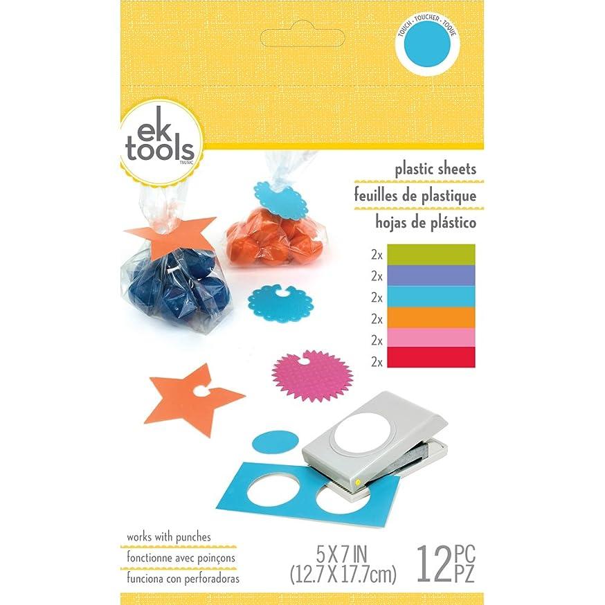 EK Tools 55-59015 Plastic Sheets Brights