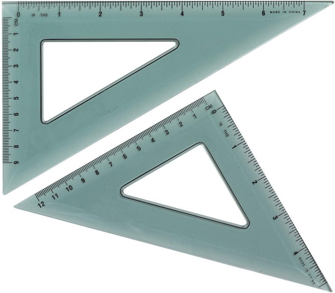 Milwaukee Mall Westcott Triangular Scale KT-90 Pack of 2 11 5.75 clear Fees free x