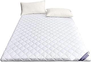 ZSAIMD Infantil Brillante Colchón de algodón 100% Colchoneta de cama doble Colchón de tatami Colchón antideslizante de varios tamaños Colchoneta de dormitorio for estudiantes Colchoneta hipoalergénica