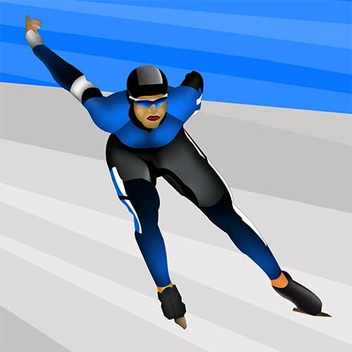La glace : le patinage de vitesse dans la compétition mondiale de sports d'hiver – édition gratuite