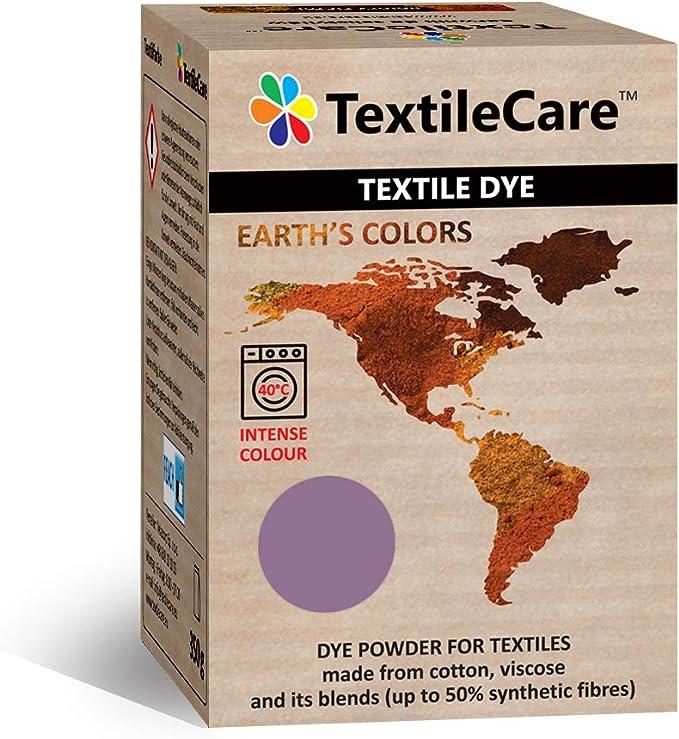 TextileCare Tinte de tela para lavadora para ropa y textiles, 350 g de tinte para ropa de 600 g, 14 colores (verde gras)