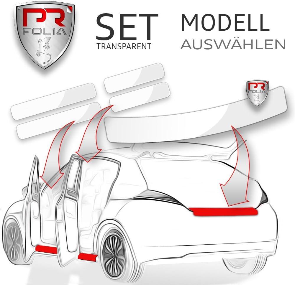 Pr Folia Set Passend Für Touran Ii 2 Typ 5t Ab 2015 Ladekantenschutz Einstiegsleisten In Transparent Lack Schutz Folie Auto