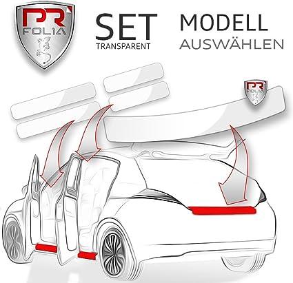 Pr Folia Set Passend Für Rapid Spaceback Kombi Typ Nh Ab 2013 Ladekantenschutz Einstiegsleisten In Transparent Lack Schutz Folie Auto