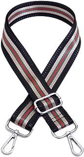 Umily Adjustable Length Handbag Purse Strap Guitar Style Multicolor 3.8cm Wide Replacement Strap Crossbody Strap