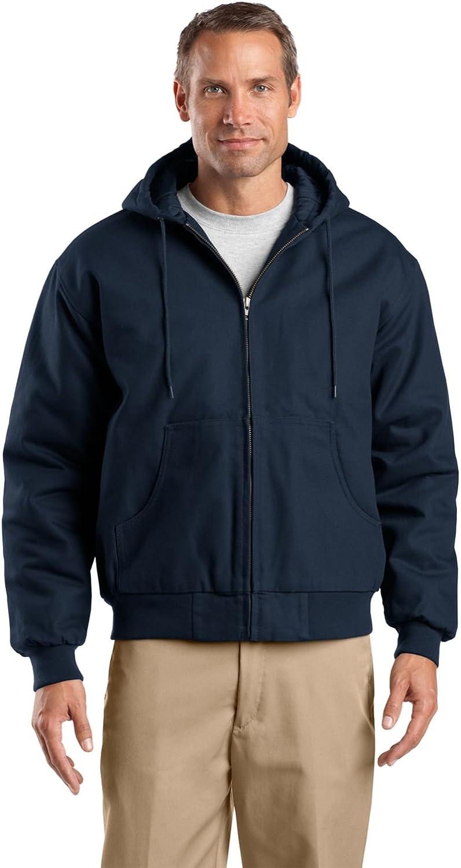 Cornerstone Men's Duck Cloth Hooded Work Jacket