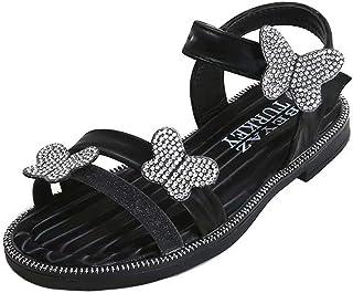 Sandales Fille Chaussures Enfants Fille Été Sandales Ouverte pour Bébé Fille