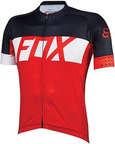 Fox Jersey de XC Ascent Manches Courtes Rouge Taille M
