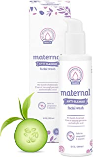 Maternal Anti-Blemish Face Wash 6 oz – For Acne Prone And Problem Skin – Safe And Effective For Expecting Mom To Be And Beyond Pregnancy
