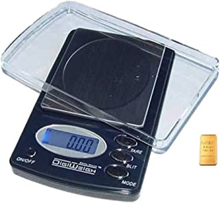 Kitchen Scale 1000 X 0.1g Weight Measure Diet Watchers Nutrition Food Pill Meds Leather Device Platinum