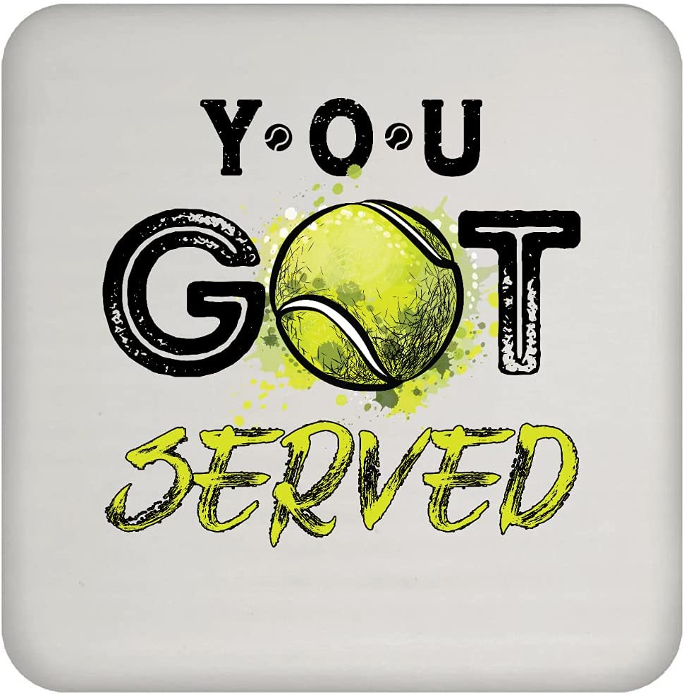 Tennis Max 43% OFF Mom You Served Coaster Year-end gift Got