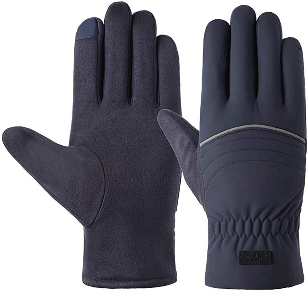 AODONG Winter Gloves for Women,Gloves for Men and Women Quilts Insulated Breathable Glove with Waterproof Wicking Insert